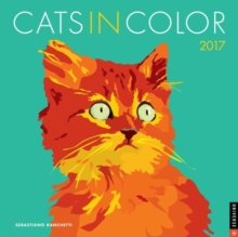 CATS IN COLOUR 2017 WALL CALENDAR,