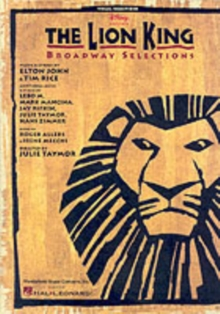 The Lion King : Broadway Selections, Paperback