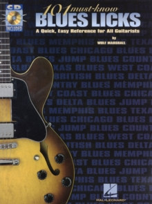 101 Must-know Blues Licks : TAB, Paperback