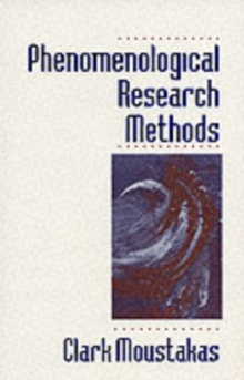 Phenomenological Research Methods, Paperback