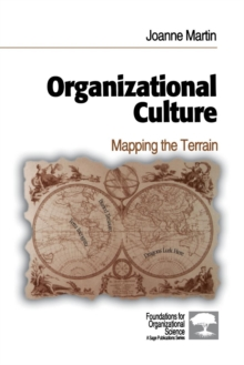 Organizational Culture : Mapping the Terrain, Paperback Book