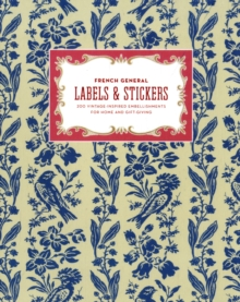 French General Labels and Stickers, Novelty book