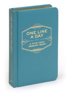 One Line a Day : A Five Year Memory Book, Diary