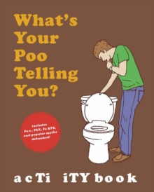 What's Your Poo Activity Book, Paperback Book
