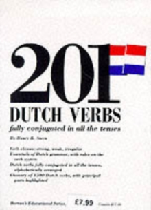 201 Dutch Verbs Fully Conjugated, Paperback