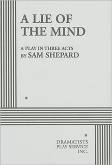 A Lie of the Mind, Paperback