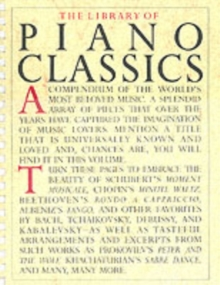 The Library of Piano Classics, Paperback