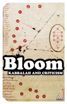 Kabbalah and Criticism, Paperback