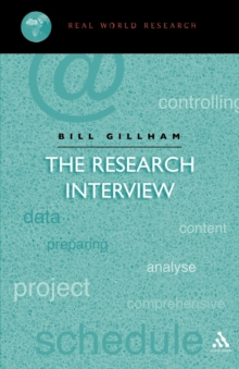 The Research Interview, Paperback