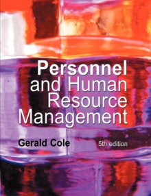 Personnel and Human Resource Management, Paperback