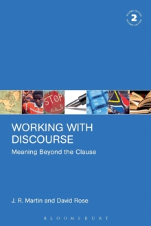 Working with Discourse : Meaning Beyond the Clause, Paperback