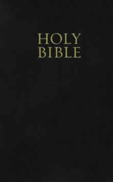 KJV, Holy Bible, Giant Print, Imitation Leather, Black, Red Letter Edition : Giant Print, Paperback