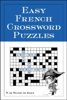Easy French Crossword Puzzles, Paperback
