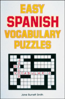 Easy Spanish Vocabulary Puzzles, Paperback