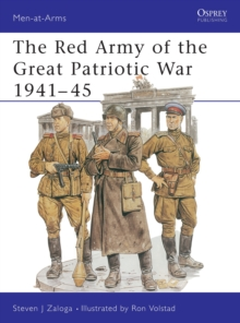 The Red Army of the Great Patriotic War, 1941-45, Paperback Book
