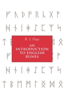 An Introduction to English Runes, Paperback