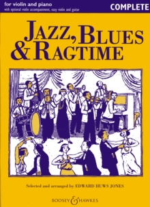 Jazz, Blues & Ragtime : Violin and Piano - Complete, Paperback Book