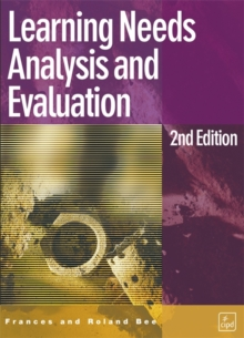 Learning Needs Analysis and Evaluation, Paperback Book