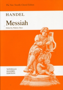 G.F. Handel : Messiah (Watkins Shaw) - Paperback Edition Vocal Score Choral Edition, Paperback Book