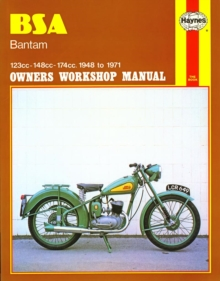 B. S. A. Bantam Owner's Workshop Manual, Paperback