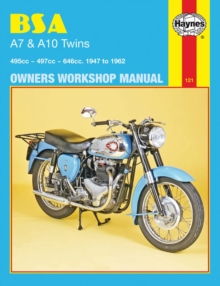 B. S. A. A7 and A10 Twins Owner's Workshop Manual, Paperback