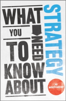 What You Need to Know About Strategy, Paperback Book