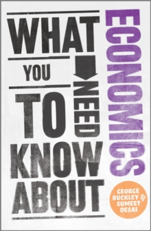 What You Need to Know About Economics, Paperback
