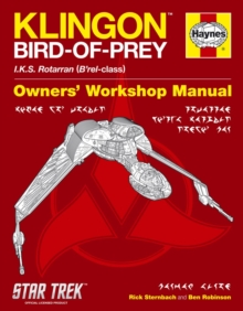 Klingon Bird of Prey Manual : IKS Rotarran (B'rel-class), Hardback