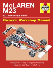 McLaren M23 : 1973 Onwards (All Marks), Hardback