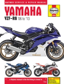 Yamaha YZF-R6 Service and Repair Manual : 2006-2012, Hardback Book