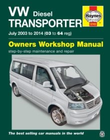 VW Transporter (T5) Diesel Owner's Workshop Manual, Paperback