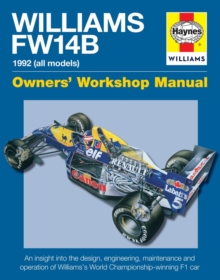 Williams FW14B Manual, Hardback