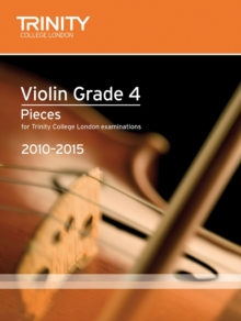 Violin Exam Pieces Grade 4 2010-2015 (score + Part), Sheet music Book