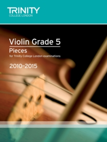 Violin Exam Pieces Grade 5 2010-2015 (score + Part), Sheet music Book