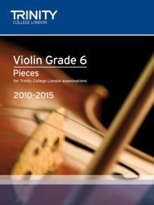 Violin Exam Pieces Grade 6 2010-2015 (score + Part), Sheet music