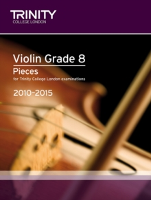 Violin Exam Pieces Grade 8 2010-2015 (score + Part), Sheet music
