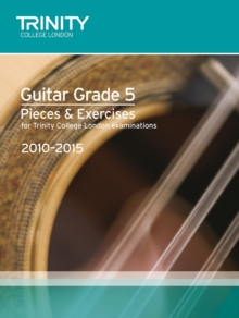 Guitar Exam Pieces Grade 5 2010-2015, Sheet music