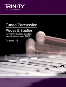 Percussion Exam Pieces & Studies Tuned Percussion: Grades 1-5, Sheet music