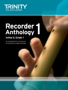 Recorder Anthology (Initial-Grade 1) : Score & Part Book 1, Paperback