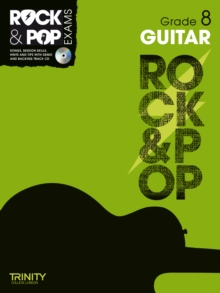 Trinity Rock & Pop Exams: Guitar Grade 8, Mixed media product