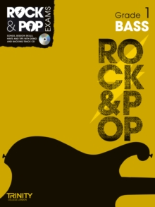Trinity Rock & Pop Exams: Bass Grade 1, Mixed media product
