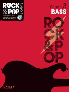 Trinity Rock & Pop Exams: Bass Grade 3, Mixed media product