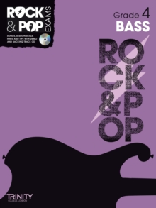 Trinity Rock & Pop Bass Grade 4, Mixed media product Book