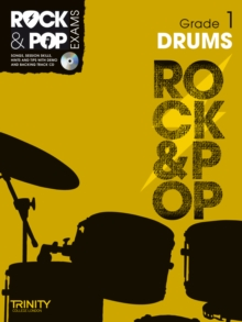 Trinity Rock & Pop Exams: Drums Grade 1, Mixed media product Book