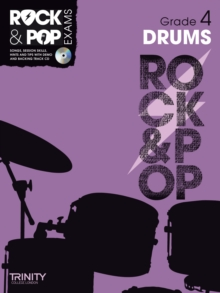 Trinity Rock & Pop Drums Grade 4, Mixed media product Book