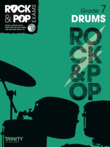 Trinity Rock & Pop Exams: Drums Grade 7, Mixed media product