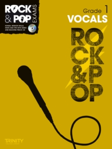 Trinity Rock & Pop Exams: Vocals Grade 1, Mixed media product