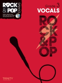 Trinity Rock & Pop Exams: Vocals Grade 3, Mixed media product