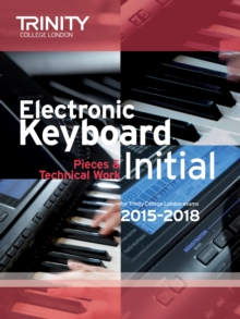 Electronic Keyboard Initial from 2015, Paperback