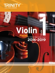 Violin Exam Pieces Grade 1 2016-2019 (Score & Part), Paperback Book